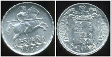ESPAGNE SPAIN  5 centimos  1953   ( rare)  (  NEUVE  -  NUEVA  )