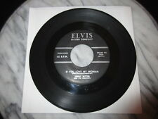 45 RPM Elvis 900 OG Jimmy Witter If You Love My Woman HEAR AAAAAAHHH! ROCKABILLY