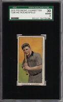 1909-11 T206 Ike Rockenfeld Piedmont 350 Southern League Montgomery SGC 30 / 2