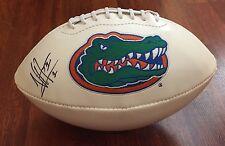 Buccaneers Vernon Hargreaves Iii Hand Signed Florida Gators Logo Football W/Coa