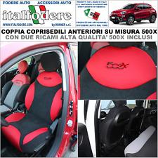 FODERE 500 SU MISURA COPRISEDILI 500 Fiat COPPIA Foderine ANTERIORI Antracite309