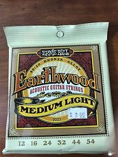 ERNIE BALL Guitar Strings Earthwood 2003 Medium Light 12-54