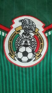 Green and White Mexico Soccer Futbol Jersey Size Medium Practice Game Jersey