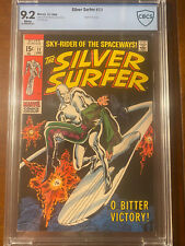 SILVER SURFER #11 12/69 CBCS 9.2 WHITE PAGES YARRO GORT DEATH HIGH GRADE NICEY!