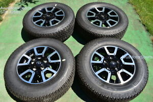 """18"""" Toyota Tundra Off Road OEM Factory Wheels Tires TRD offroad Sequoia + TPMS"""