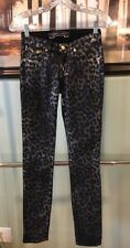 New Women Authentic USA Robin's Jean Animal Print Casual Nice Pants Size 25