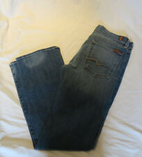 7 For all Mankind Women's Size 31 Medium Wash Bootcut Jeans