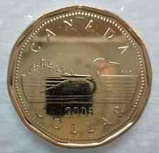 2008 CANADA LOONIE PROOF-LIKE ONE DOLLAR COIN