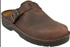 NAOT FIORD CLOGS IN CRAZY HORSE LEATHER SIZE 40 U.S. WOMEN'S SIZE 9
