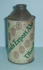 Canadian Olands Export Ale Cone Top Beer Can Halifax Canada