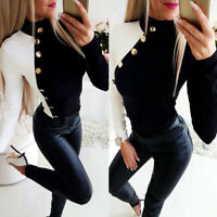 Women Long Sleeve T Shirt Casual Pullover Long Tops Slim Fit Sweatshirt Blouse