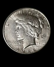 1922-S Peace Silver Dollar! Original State Coin! Vf/Xf Condition!