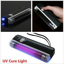 UV Cure Lamp Ultraviolet Black UV Light for Car Auto Glass Windshield Repair Kit