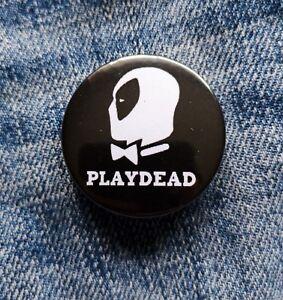 Deadpool Pin Playdead Badge - 38mm - Avengers X Men Cable Disney Playboy Marvel