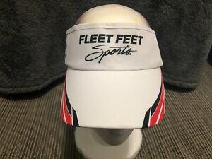 Headsweats Fleet Feet Sports Visor Hat Cap