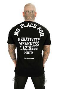 ADONIS.GEAR- NPF, T-SHIRT, MENS, BLACK, STREETWEAR, GYM, SPORTSWEAR, SHIRT