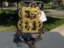 Sperry Atkins Manross Terry 8 Day OG Weight Driven Shelf Mantle Clock Movement