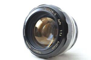Nikon Nikkor-S Auto 55mm f/1.2 Non-Ai MF Prime Lens Nippon Kogaku Japan #0607