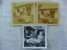 3 Vintage 1950s Photos Boys w/ Pedal Car Toys 815003