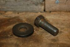 1965 1966 66 67  FORD TRUCK F100 F250 FE 352 360 390 CRANK SHAFT BOLT AND WASHER