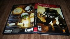 SHADOW OF THE COLOSSUS GH PLAYSTATION 2 PS2 EX+NM CONDITION COMPLETE!