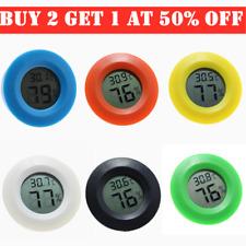 Digital LCD Thermometer Mini Hygrometer Humidity Temperature Meter Indoor Tester