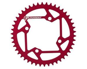 Tangent Halo 4-Bolt Chainring (Red)