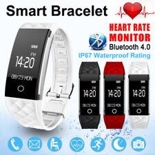 S2 Herzfrequenz GPS Wasserdicht Smart Armband Uhr Wristband Sport Fitness Track