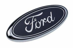 (1)NEW OEM FORD 1998-2004 F150 F250 Blue Ford Oval FRONT Grill Emblem E7TZ8213BB