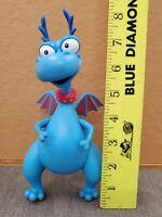 """STUFFY the Blue Dragon PVC Action Figure Disney Doc McStuffins 8"""""""