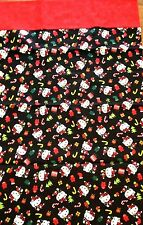 Pillow Cases Unique Handcrafted 2 Pack Christmas Hello Kitty Theme Standard Size