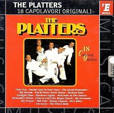 THE PLATTERS: 18 ORIGINAL GREATEST HITS .. TWLIGHT TIME .. OLDIES