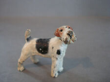 Adorable ~ Miniature-Cold Painted Bronze ~ Wire Haired Fox Terrier