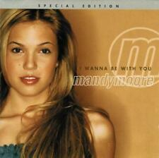 MANDY MOORE - I Wanna Be With You [Enhanced](CD 2000) USA Special Edition EXC-NM