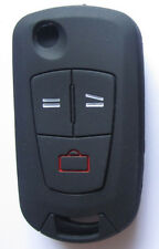 Cover silicone NERO chiave auto OPEL 2 o 3 tasti ZAFIRA CORSA ASTRA VECTRA Vauxh