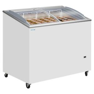 TEFCOLD IC300SCEB SMALL DISPLAY FROZEN ICE CREAM FREEZER & FREE UK DELIVERY!!
