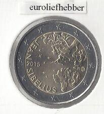 FINLAND               2 Euro Commemorative 2015   *   Jean Sibelius  *