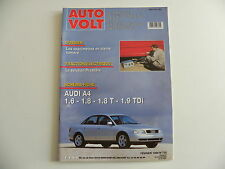 revue automobile AUTO VOLT schéma-fiche AUDI A4 1.6 / 1.8 / 1.8T /1.9 TDI n° 720