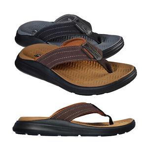Skechers Mens Sargo Reyon Relaxed Fit Memory Foam Garden Beach Holiday Sandals