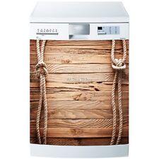 Magnet lave vaisselle Bois et Corde 60x60cm réf 605 605