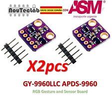 2pcs I2C APDS-9960 GY-9960LLC RGB Gesture and Sensor Board Module Breakout