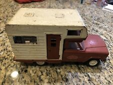 Vintage Tonka Jeep Camper Rv Motor Home Truck Pressed Steel
