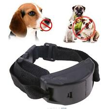 Electric Anti No Bark Shock Dog Trainer Stop Barking Pet Training Control Collar