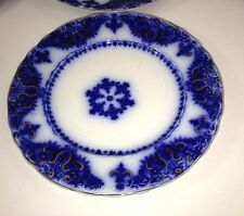 """Vintage Johnson Bros England Albany Flow Blue 8"""" SALAD Plate Price Each Have 11"""