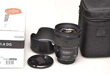 SIGMA 50mm f1.4 DG HSM ART Nikon F.