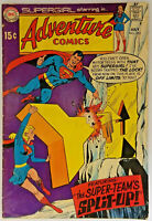 Adventure Comics # 382 VF-/7.5 DC Comics 1969 Superboy Supergirl Krypton Batman