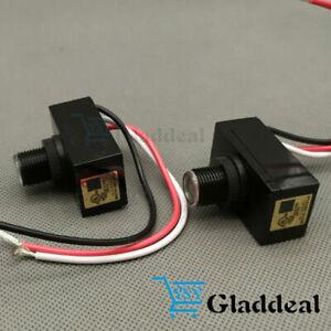 Control USA Photocell Electric Light Sensor Switch Resistor 2PCS JL103A Outdoor