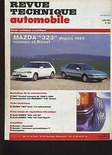 (5B)REVUE TECHNIQUE AUTOMOBILE MAZDA 323 essence et diesel