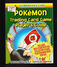 1999 POKEMON TRADING CARD GAME PLAYER'S GUIDE 1st ED SANDWICH ISLANDS OOP NOS
