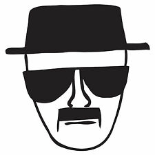 Heisenberg Vinyl Decal sticker Breaking Bad Blue Walter White Bryan Cranston